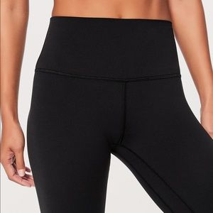 Lululemon Wide Waist Band Long Leggings